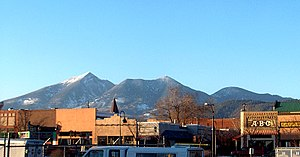 Flagstaff, Arizona - Downtown Flagstaff in 2000