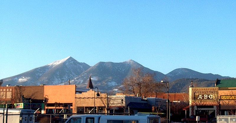Downtown Flagstaff in 2000