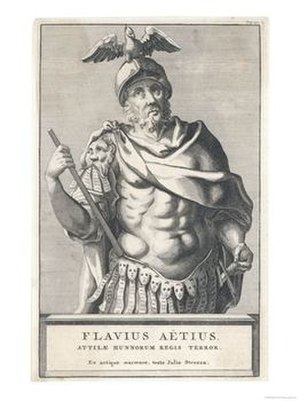 "Ezio (Handel) - Flavius Aetius, called ""Ezio"" in the opera"