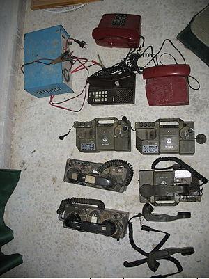 Battle of Bint Jbeil - Hezbollah communication devices captured in Bint Jbeil