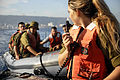 Flickr - Israel Defense Forces - Snapir Course Instructor on Rubber Boat Drill, Nov 2010.jpg