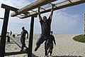 Flickr - Official U.S. Navy Imagery - Chief petty officer (CPO) selects maneuver through the obstacle course..jpg