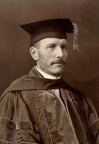 Florian Cajori - Florian Cajori at Colorado College