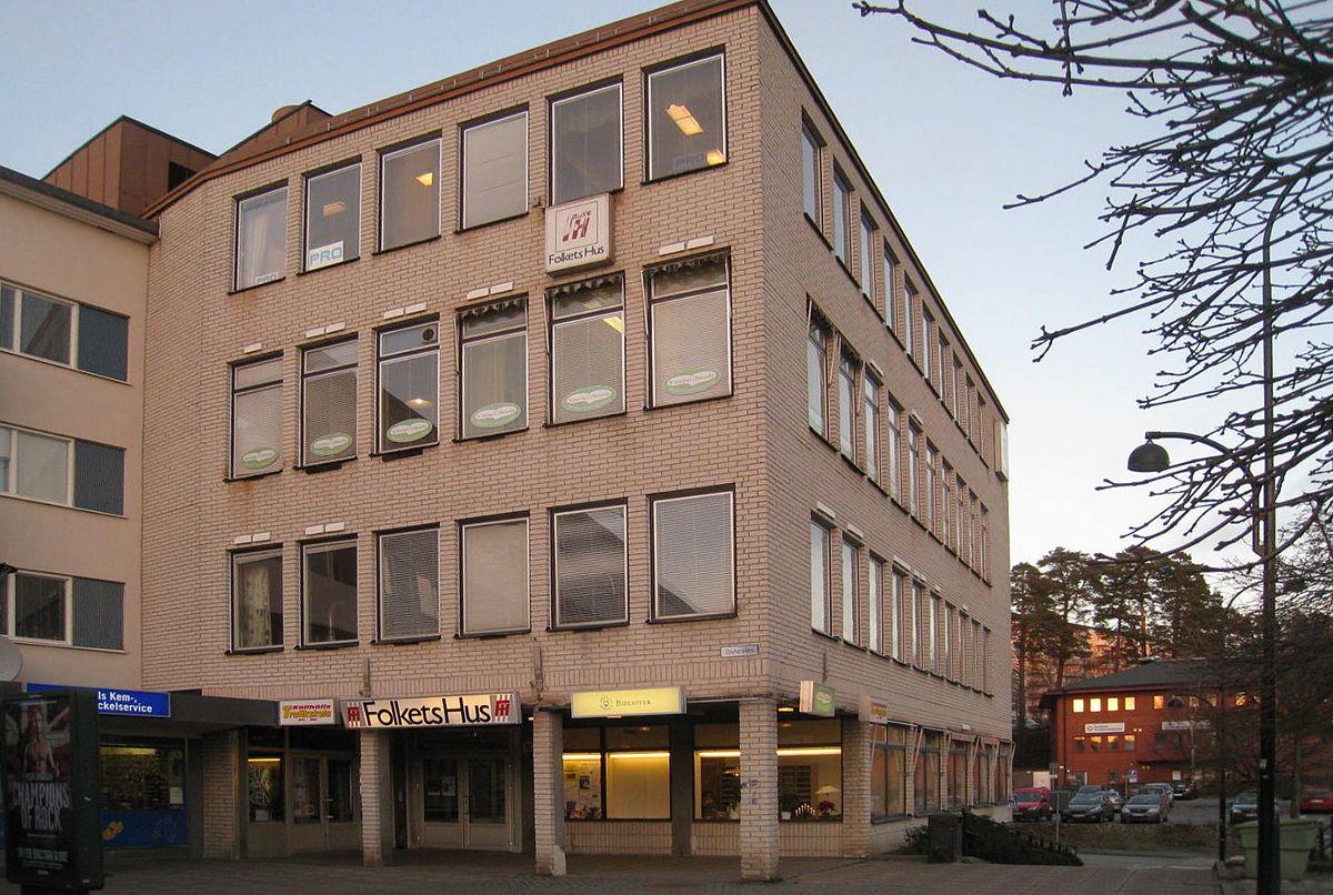 Folkets hus, Kallhäll u2013 Wikipedia