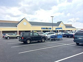 Food Lion - Food Lion featuring new signage in Nags Head, North Carolina