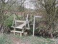 Footbridge over Cockhaise Brook - geograph.org.uk - 1780651.jpg
