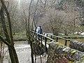 Footbridge over River Wye in Millers Dale - geograph.org.uk - 519126.jpg
