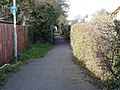 Footpath, Cherry Hinton - geograph.org.uk - 718274.jpg