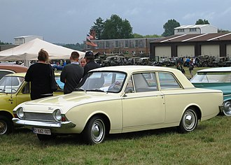 Ford Corsair - The 2-door Corsair was never a big seller on the home market