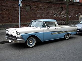 Coupé utility - Ford Ranchero (1958)