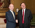 Foreign Secretary, William Hague meets with the Georgian Foreign Minister (4748011193).jpg
