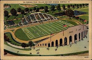 Foreman Field - Foreman Field Postcard (c. 1946)