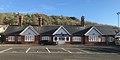 Fort Matilda railway station and Lyle Hill.jpg