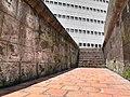 Fort of San Antonio Abad - southeastern steps to rampart 3.JPG
