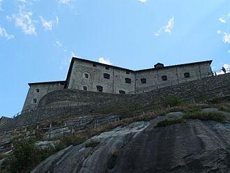 Fort Bard - Image: Forte di Bard DSCF8332