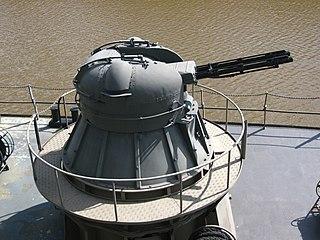 AK-230 A Soviet fully automatic naval twin 30 mm gun