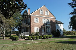 National Register of Historic Places listings in Jones County, North Carolina - Image: Foscue Plantation House
