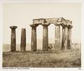 Fotografi på gammalt tempel i Grekland - Hallwylska museet - 104606.tif