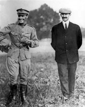 Benjamin Foulois - Lt. Foulois and Orville Wright in 1909