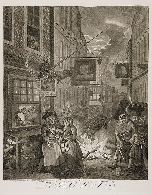 Resultado de imagem para william hogarth the four times of day