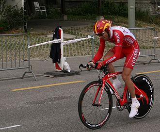Frédéric Bessy - Bessy in the 2007 Tour de Romandie