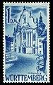 Fr. Zone Württemberg 1948 27 Kloster Zwiefalten.jpg
