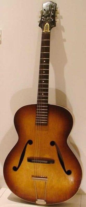 Ivor Mairants - Framus Zenith model 17