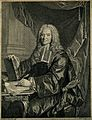 François Chicoyneau. Line engraving by J. G. Wille, 1744, af Wellcome V0001114.jpg