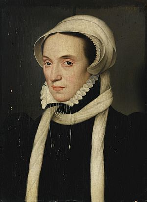 Christina of Denmark - Christina of Denmark Duchess of Milan and of Lorraine 1558, by François Clouet