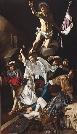 Francesco Buoneri, called Cecco del Caravaggio - The Resurrection - Google Art Project.jpg