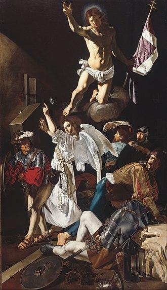 Cecco del Caravaggio - The Resurrection