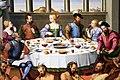 Francesco di girolamo da santacroce, banchetto con satiri, 1545 ca. 02.jpg