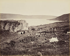 Francis Bedford. Sea of Galilee, at Tiberias. 20 Apr 1862.jpg