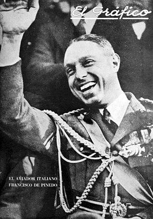 Francesco de Pinedo - Francisco de Pinedo - El Gráfico 1927