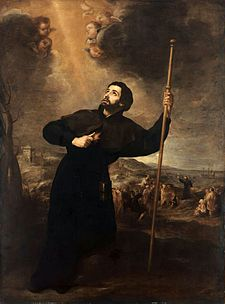San Francesco Saverio in un dipinto di Bartolomé Esteban Murillo