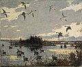 Frank W. Benson - Pintails Decoyed (1921).jpg