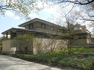 Frank Thomas House - Frank W. Thomas House (1901), by Frank Lloyd Wright
