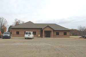 Franklin Township, Lenawee County, Michigan - New Township Hall under construction