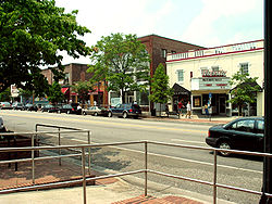 Franklin Street streetscape