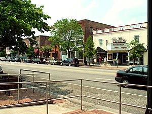 Franklin Street (Chapel Hill) - Franklin Street streetscape