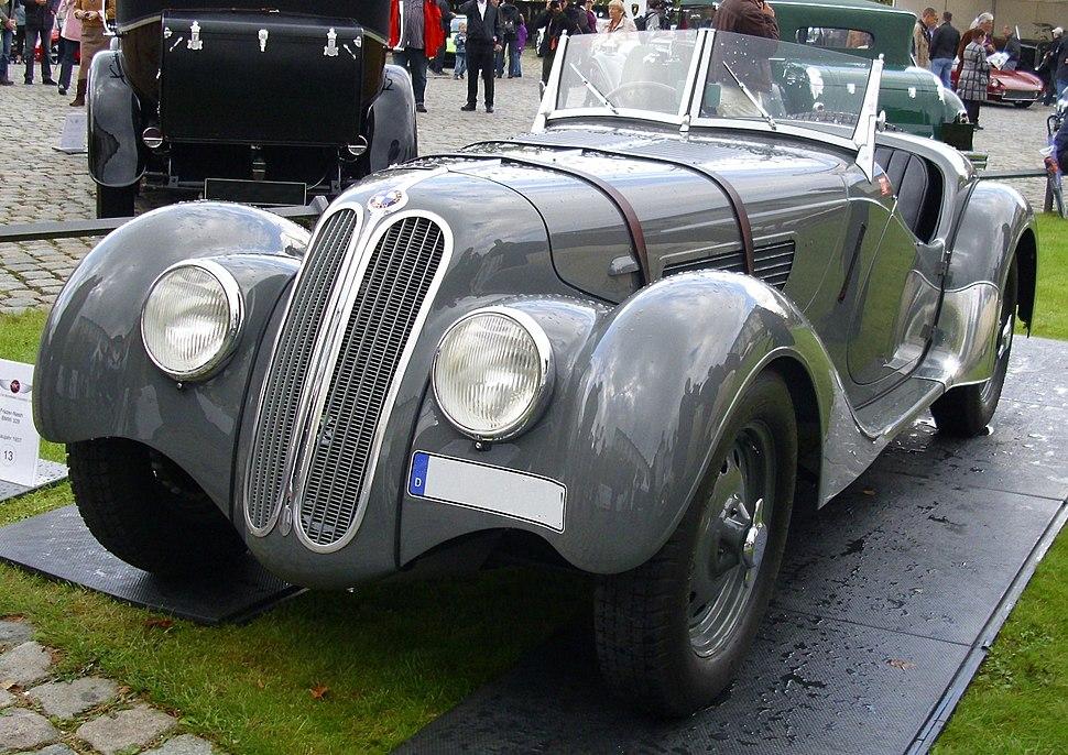 Frazer Nash BMW 1937 vr