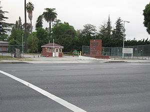 Fred C. Nelles Youth Correctional Facility - Image: Fred C. Nelles entrance