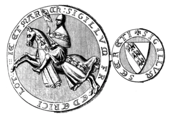 Frederick III, Duke of Lorraine - Seal of Frederick III/