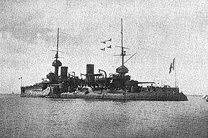 French battleship Bouvet