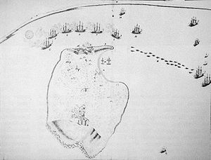 French capture of Goree over the Dutch in 1677.jpg