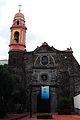 Frente a la Parroquia de Santa María la Redonda.JPG
