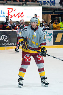 Fribourg Gottéron vs. Genève Servette, 6th March 2010 - Déruns Thomas.jpg