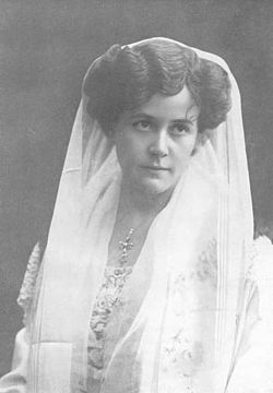 Frida Winnerstrand, 1908.