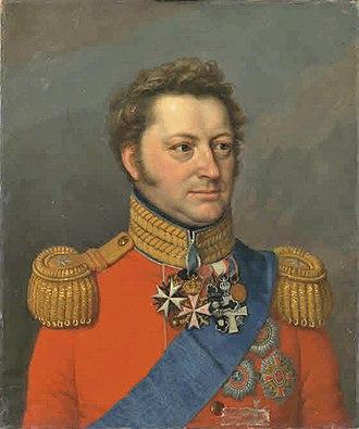 Princess Juliane Sophie of Denmark - Wilhelm of Hesse-Philippsthal-Barchfeld, husband of Princess Juliane Sophie