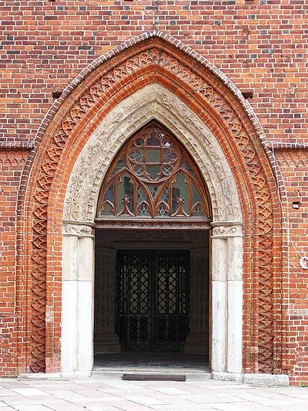 450px frombork katedra portal wej ciowy for Portal w architekturze